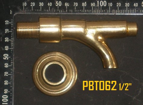 Push Button Brass Tap
