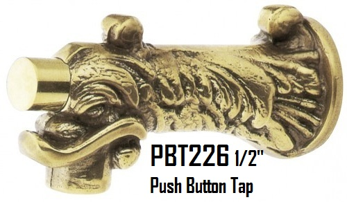 Push Button Decorative tap