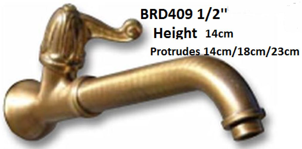 Oil rubbed bronze water spout