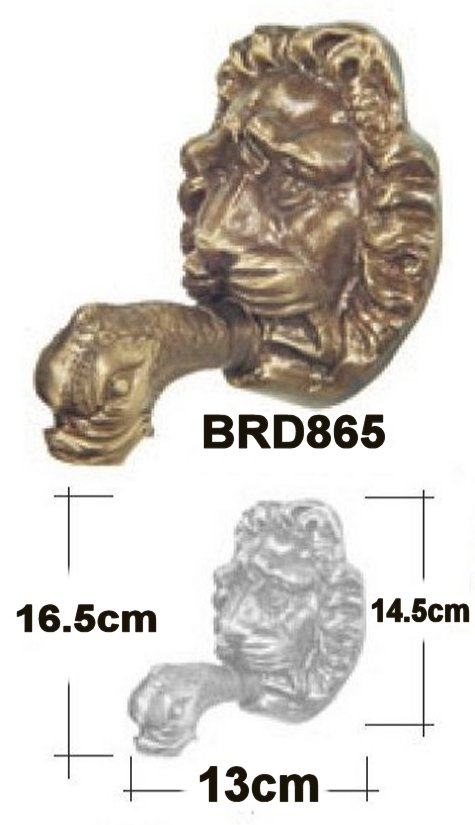 Lion Head Escutcheon